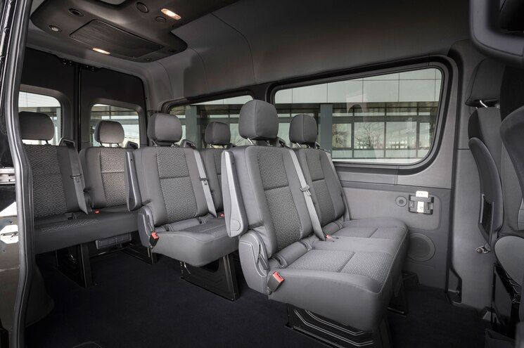 Mercedes Sprinter inside