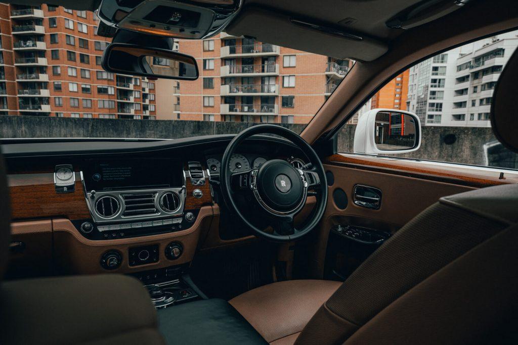 Rolls Royce Ghost Series II driver seat